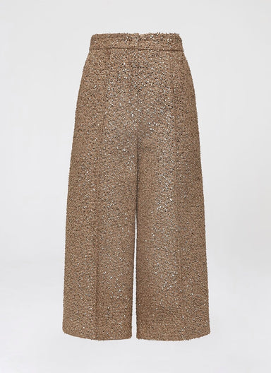 Highlight lurex tweed culottes - ESCADA
