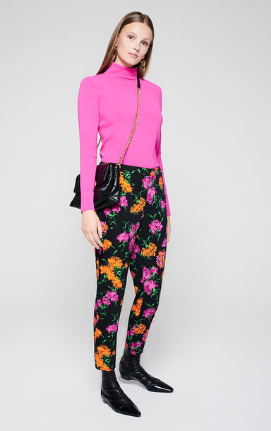 Cropped Floral Pants - ESCADA