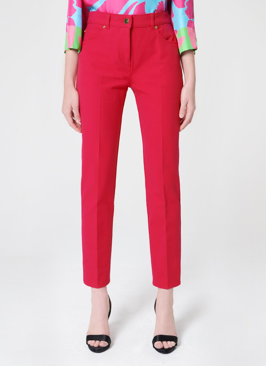 ESCADA Straight Ankle Jeans