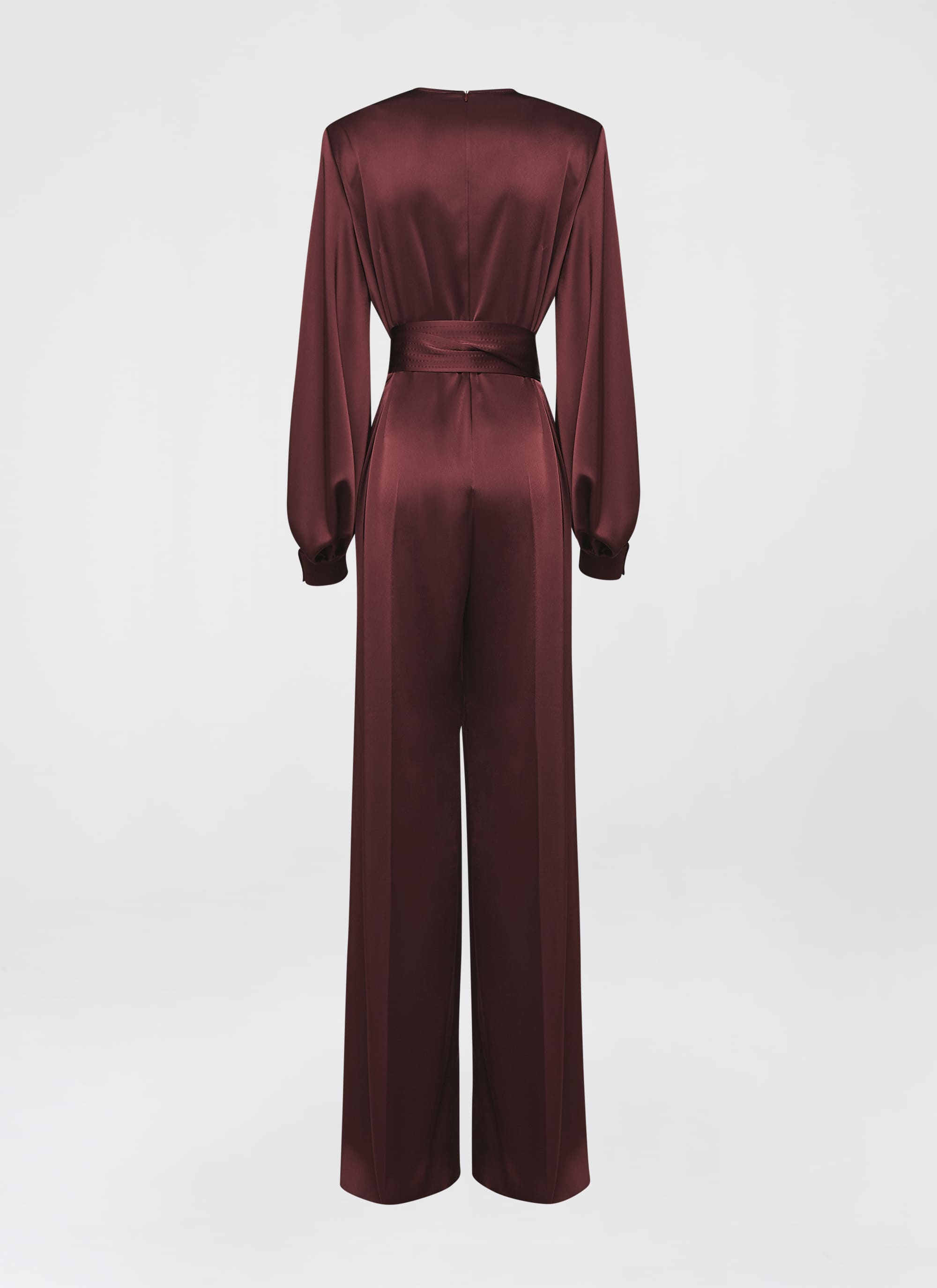 Feminine double satin jumpsuit - ESCADA