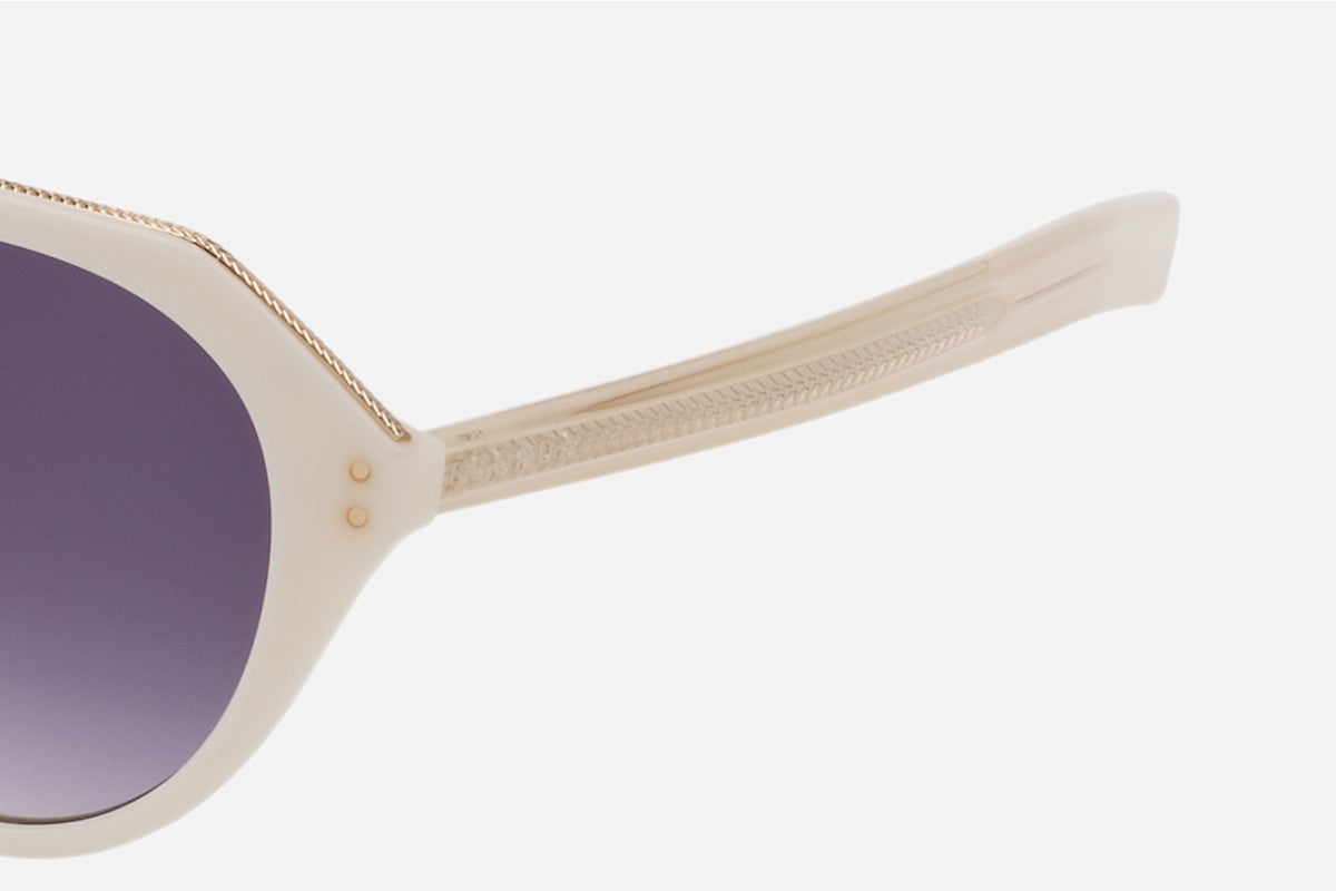 ESCADA Round Acetate Sunglasses