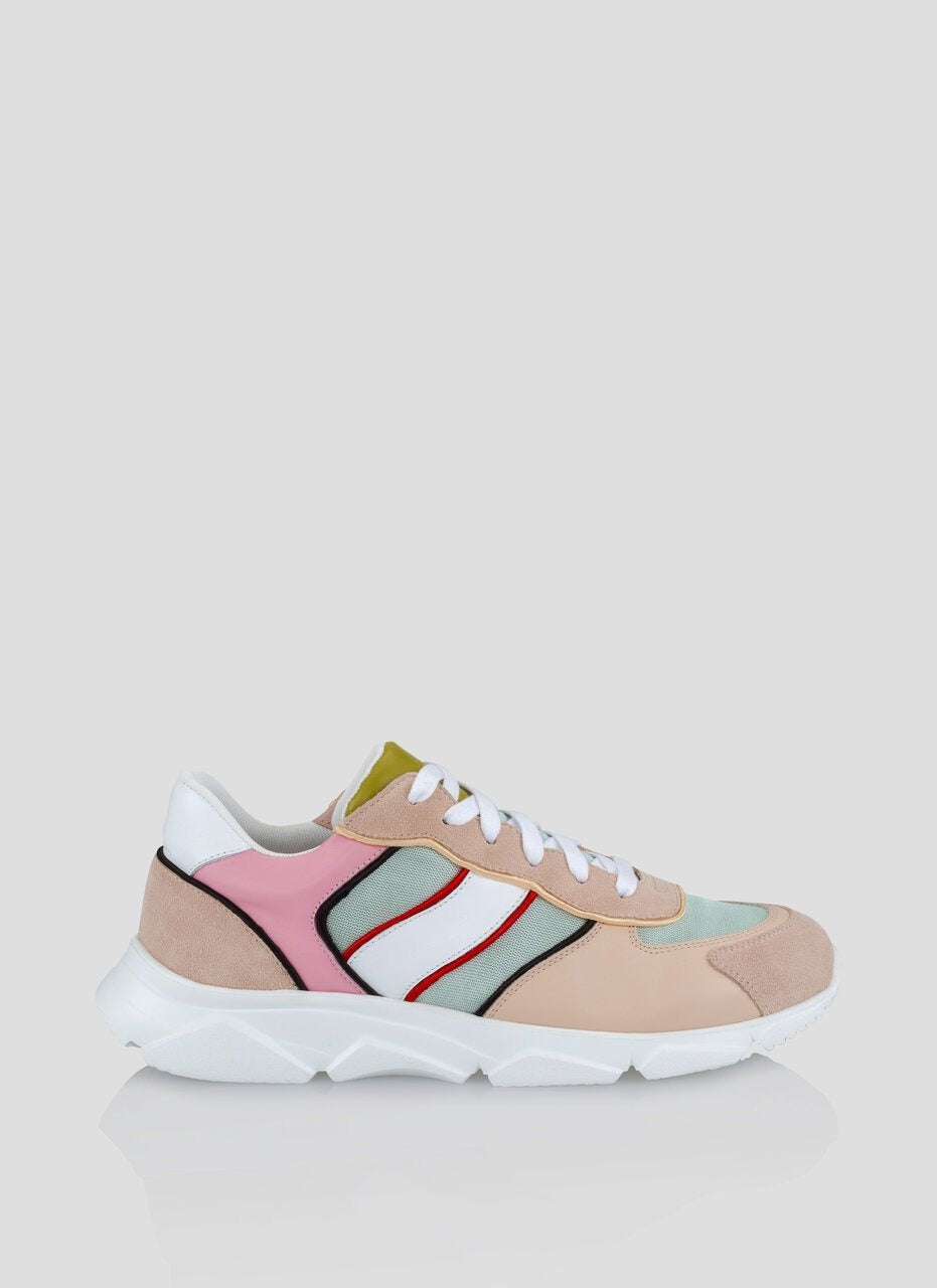 Lace Up Running Sneakers - ESCADA