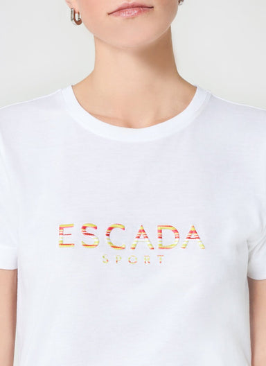Multicolor Logo T-Shirt - ESCADA