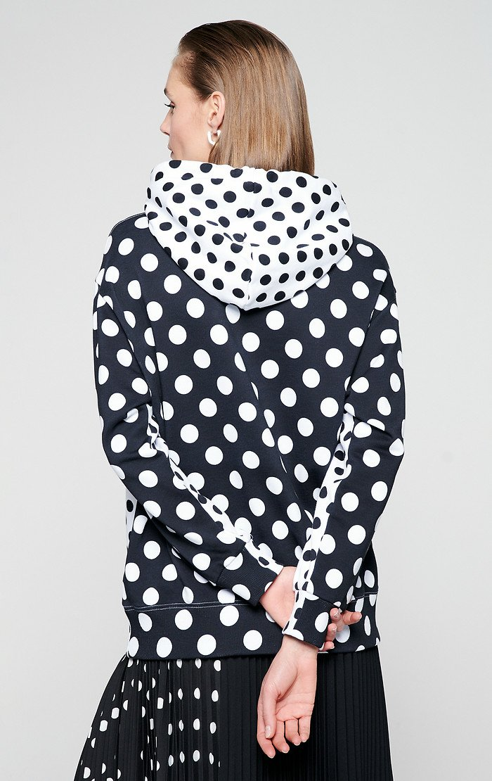 ESCADA Printed Hooded Sweatshirt