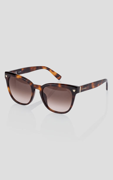 Square Acetate Sunglasses - ESCADA