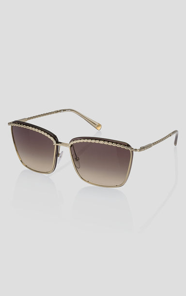 ESCADA Square Metal Sunglasses