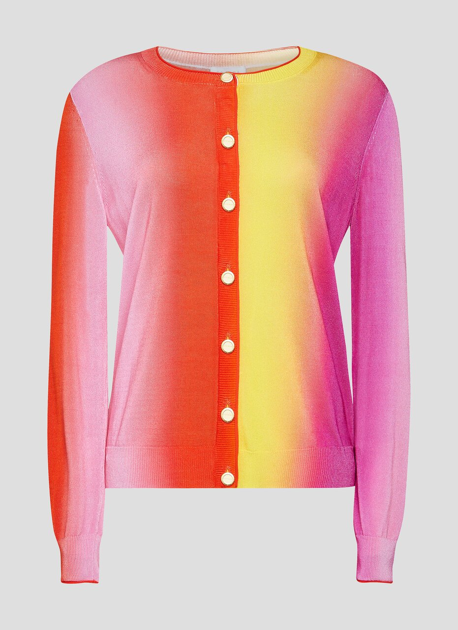 Multicolor Ombré Cardigan - ESCADA