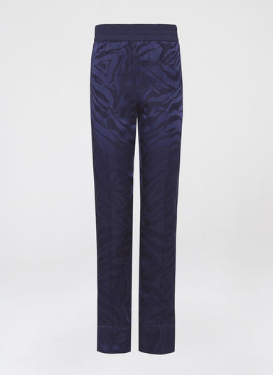 Viscose Jacquard Zebra Pants - ESCADA