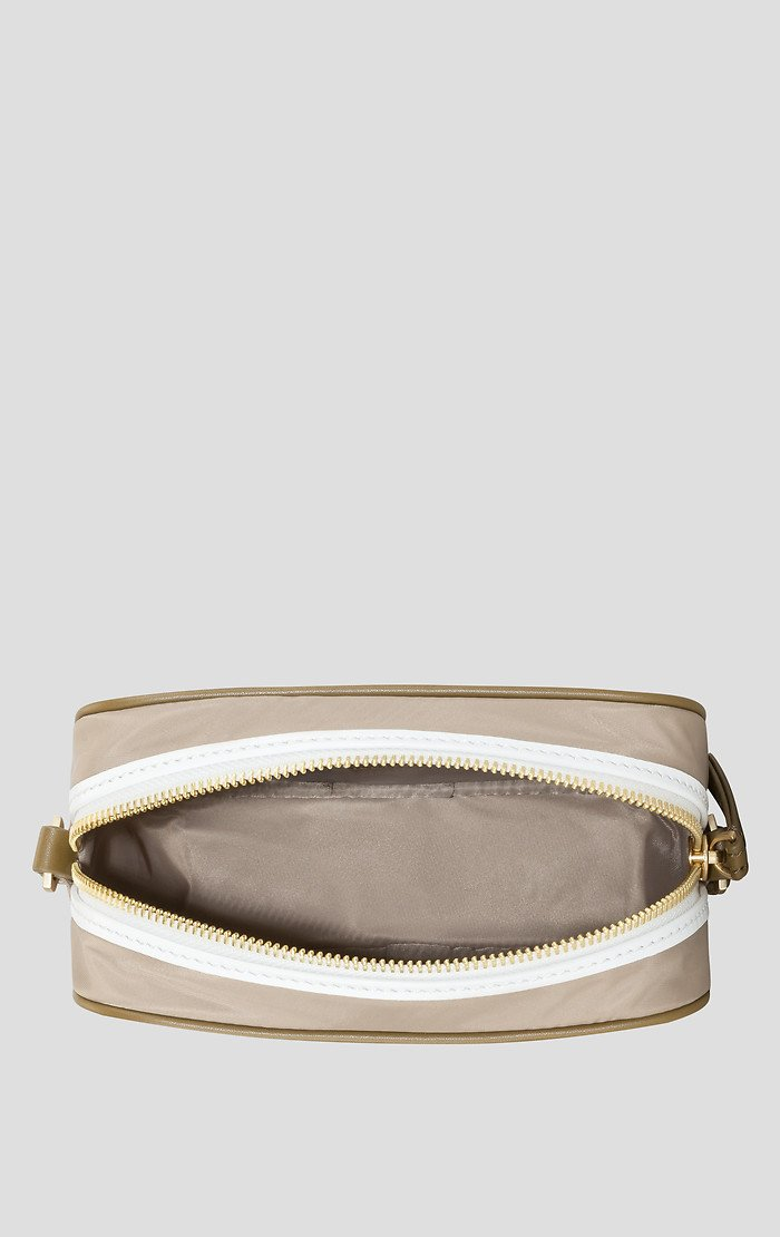 Nylon and Leather Shoulder Bag - ESCADA