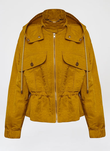Hooded Nylon Jacket - ESCADA
