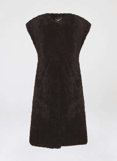 Statement topper lambfur vest - ESCADA