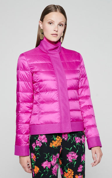 ESCADA Material Mix Quilted Down Jacket