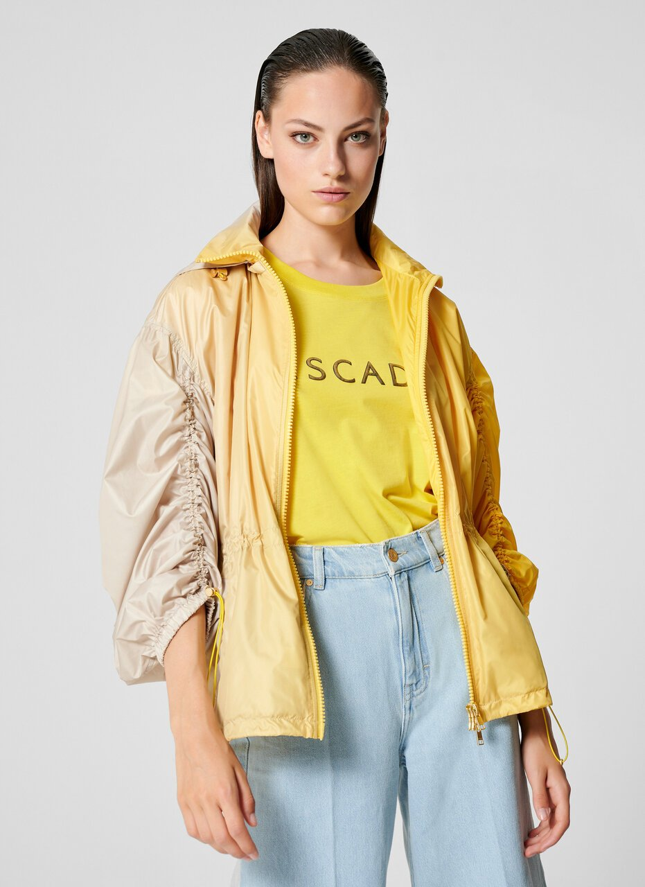 Two-Tone Ombré Parka Jacket - ESCADA