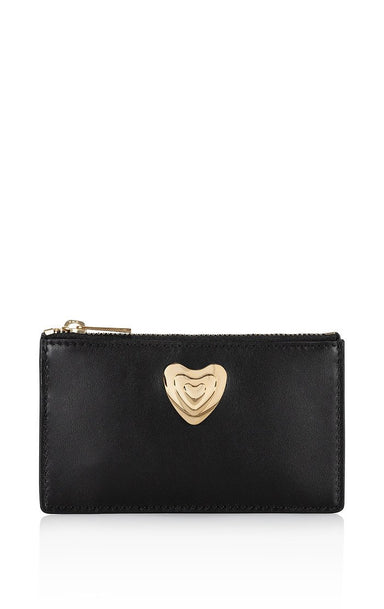 Online Exclusive - Small Leather Heart Wallet - ESCADA