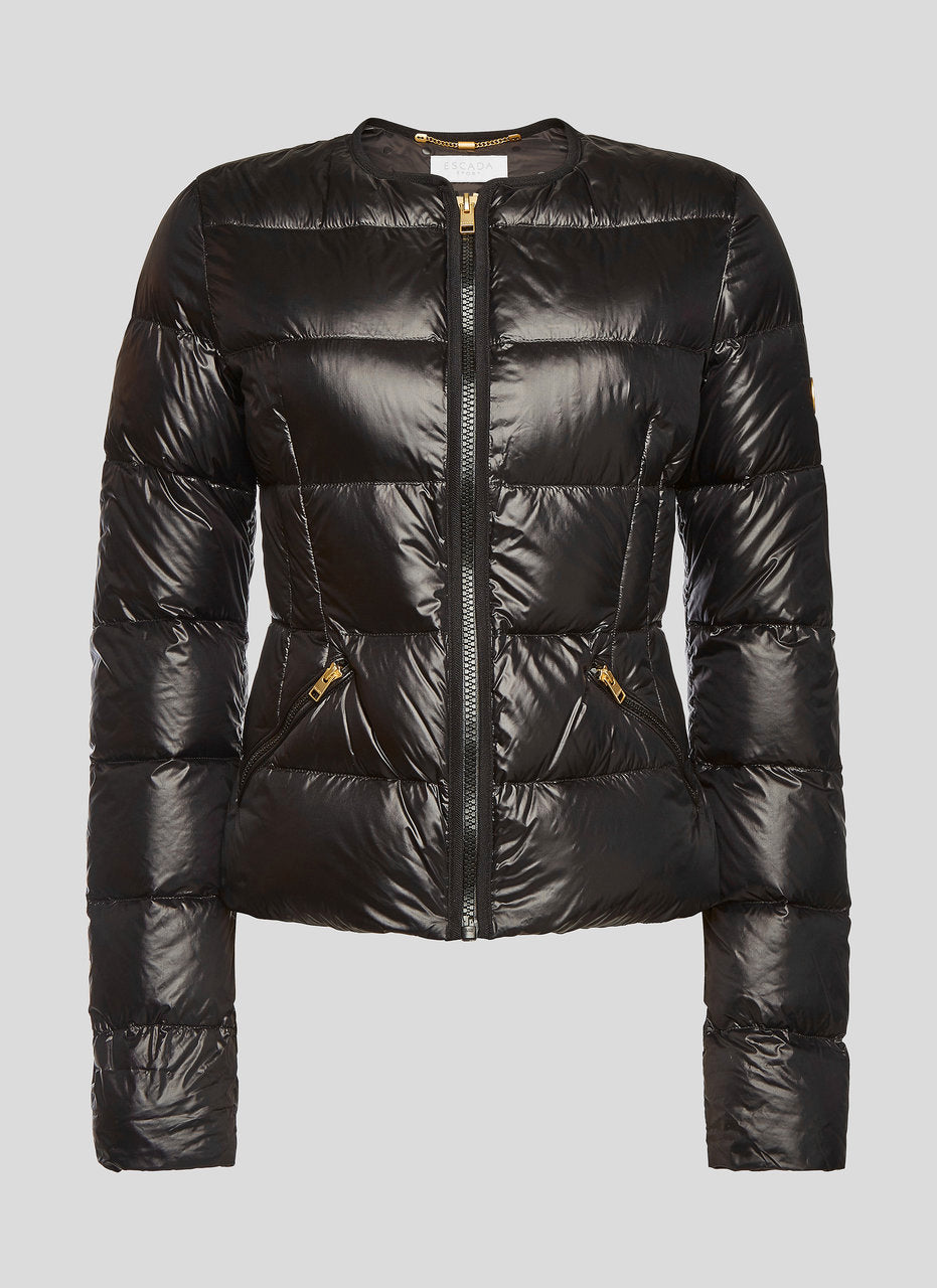 ESCADA Glossy Quilted Down Jacket