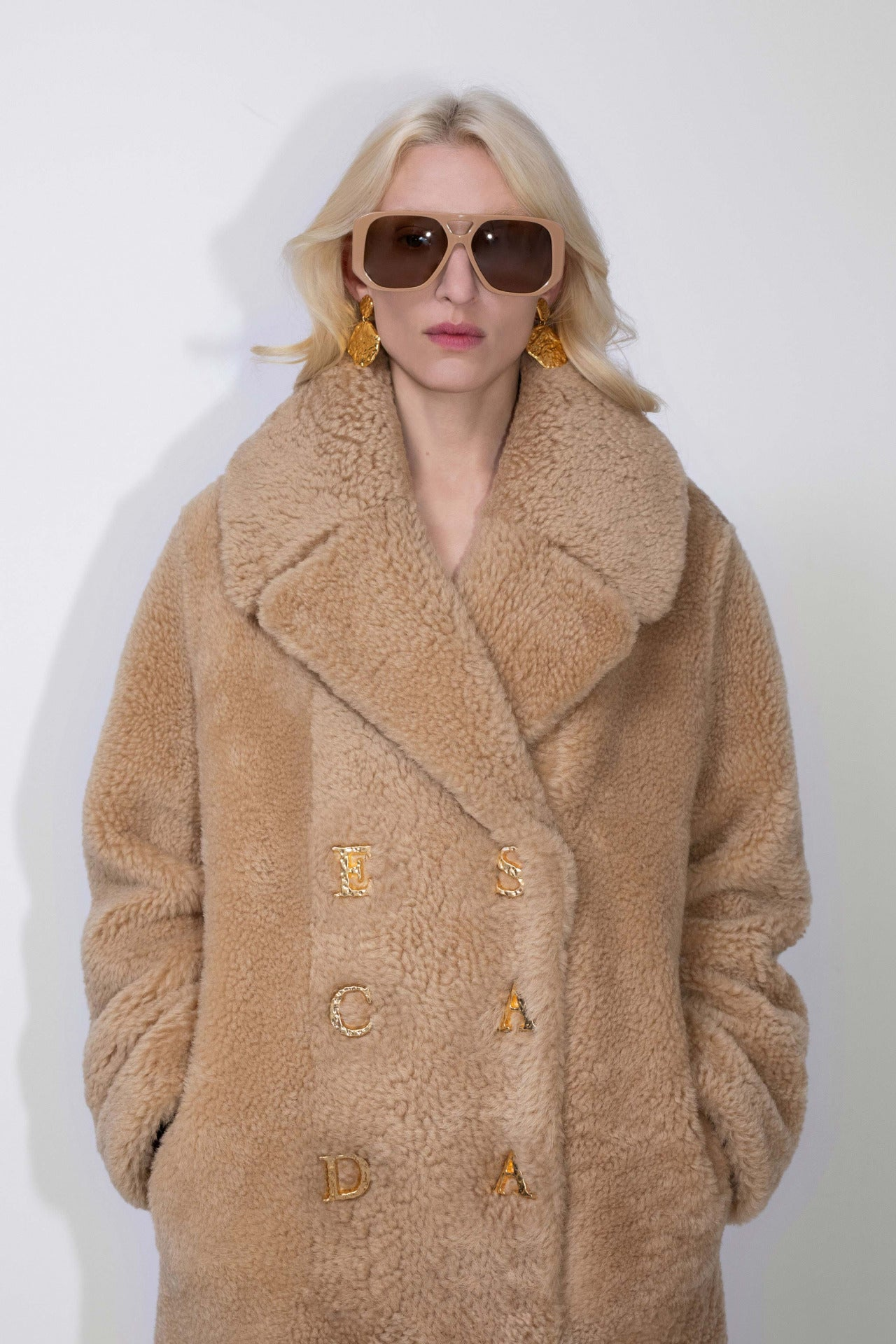 ESCADA Fall/Winter 2020 Shearling Coat