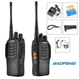 Portable 2-Way UHF Radio (Set of 2)