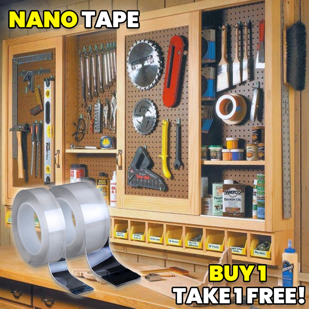 Reusable Double-Sided Adhesive Nano Tape (BUY 1 FREE 1)