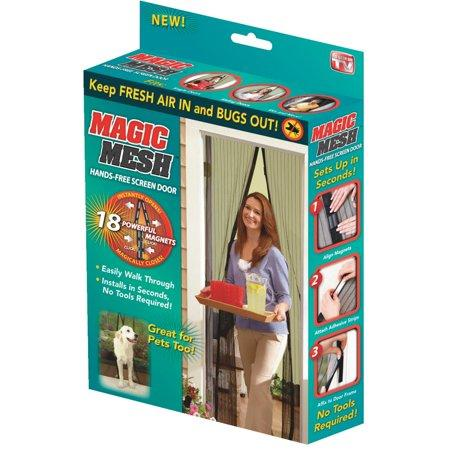 Magic Curtain Hands Free Insect Screen Door (BUY 1 FREE 1)