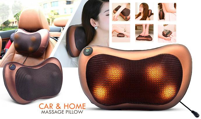 Car & Home Pillow Massage (BEST SELLER)
