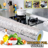 Kitchen Oil-Proof Aluminium Sticker