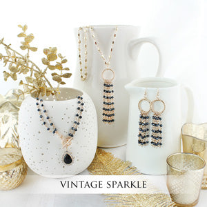 Vintage Sparkle Collection by Seasons Jewelry