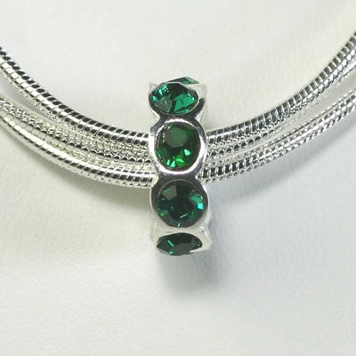 Emerald May Birthstone Charm