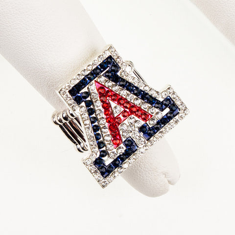 Arizona Crystal Logo Stretch Ring