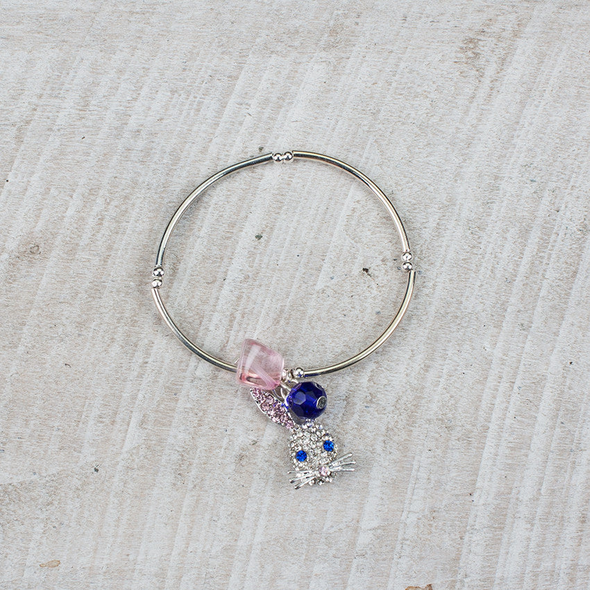Crystal Rabbit Stretch Bracelet