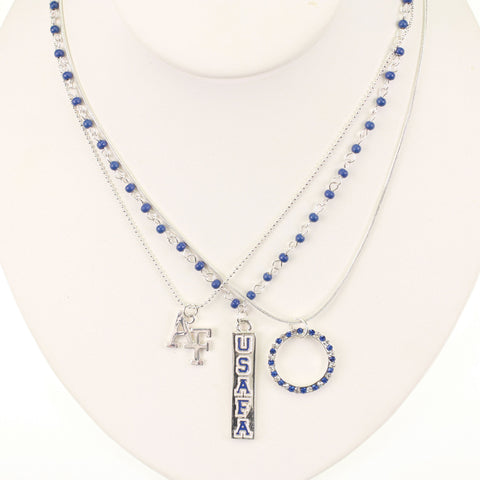 Air Force Trio Necklace