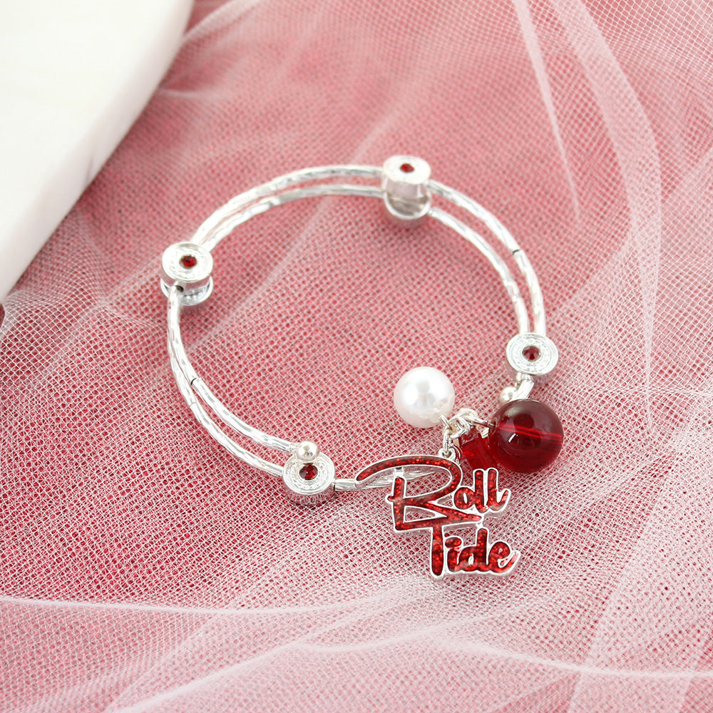 Alabama Slogan Bracelet
