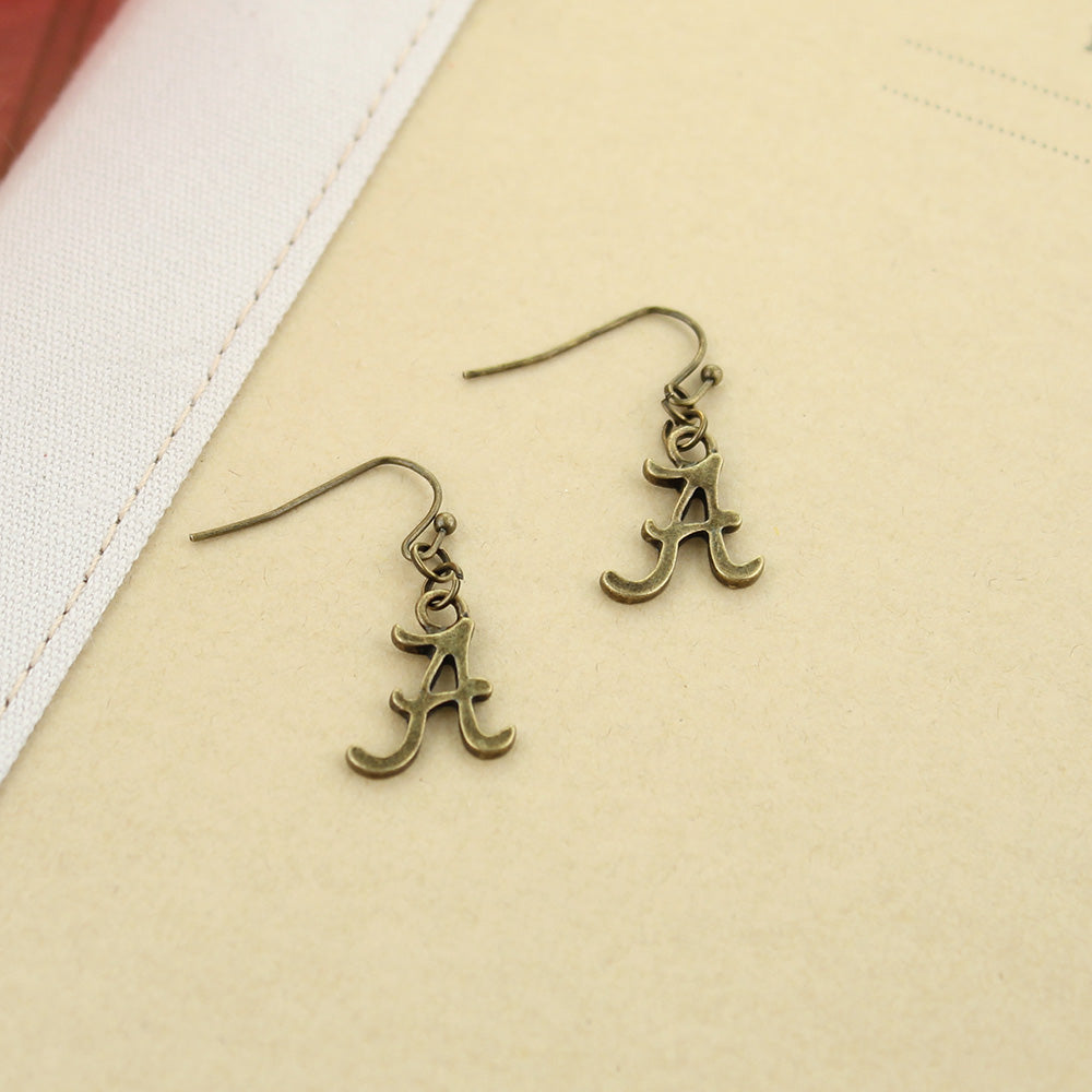 Alabama Vintage Style Logo Earrings