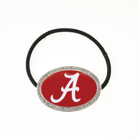 Alabama Enamel Logo Pony Tail Holder