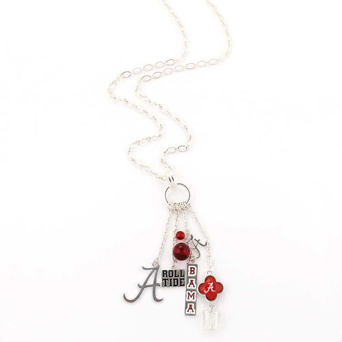 Alabama Cluster Necklace