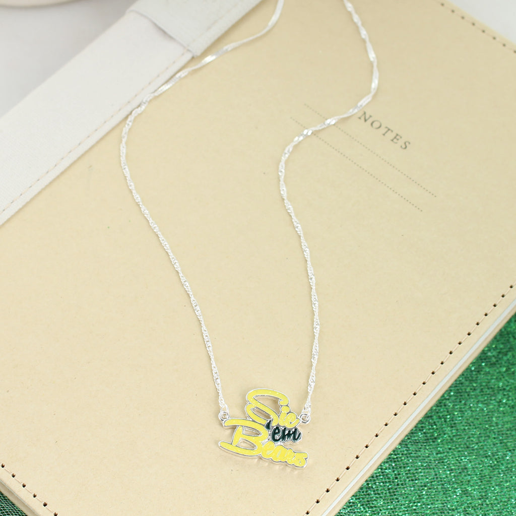 Baylor Slogan Necklace