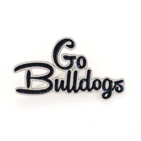 Butler Slogan Pin