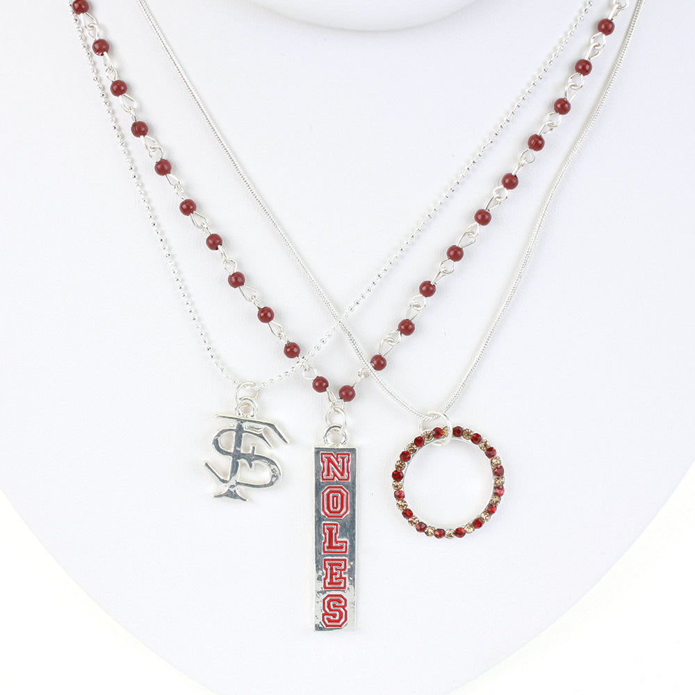 Florida State Trio Necklace Set