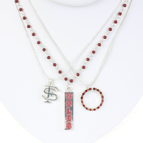 Seasons Jewelry Florida State Trio Necklace