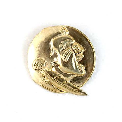 Florida State Gold Plated Pin