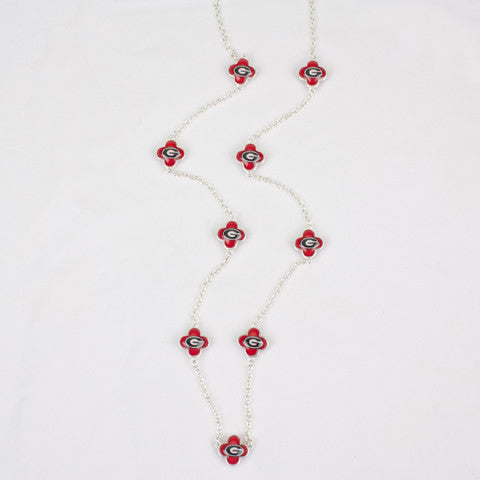 Seasons Jewelry Georgia Quatrefoil Necklace