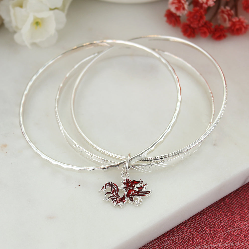 South Carolina Logo Bangle Bracelets