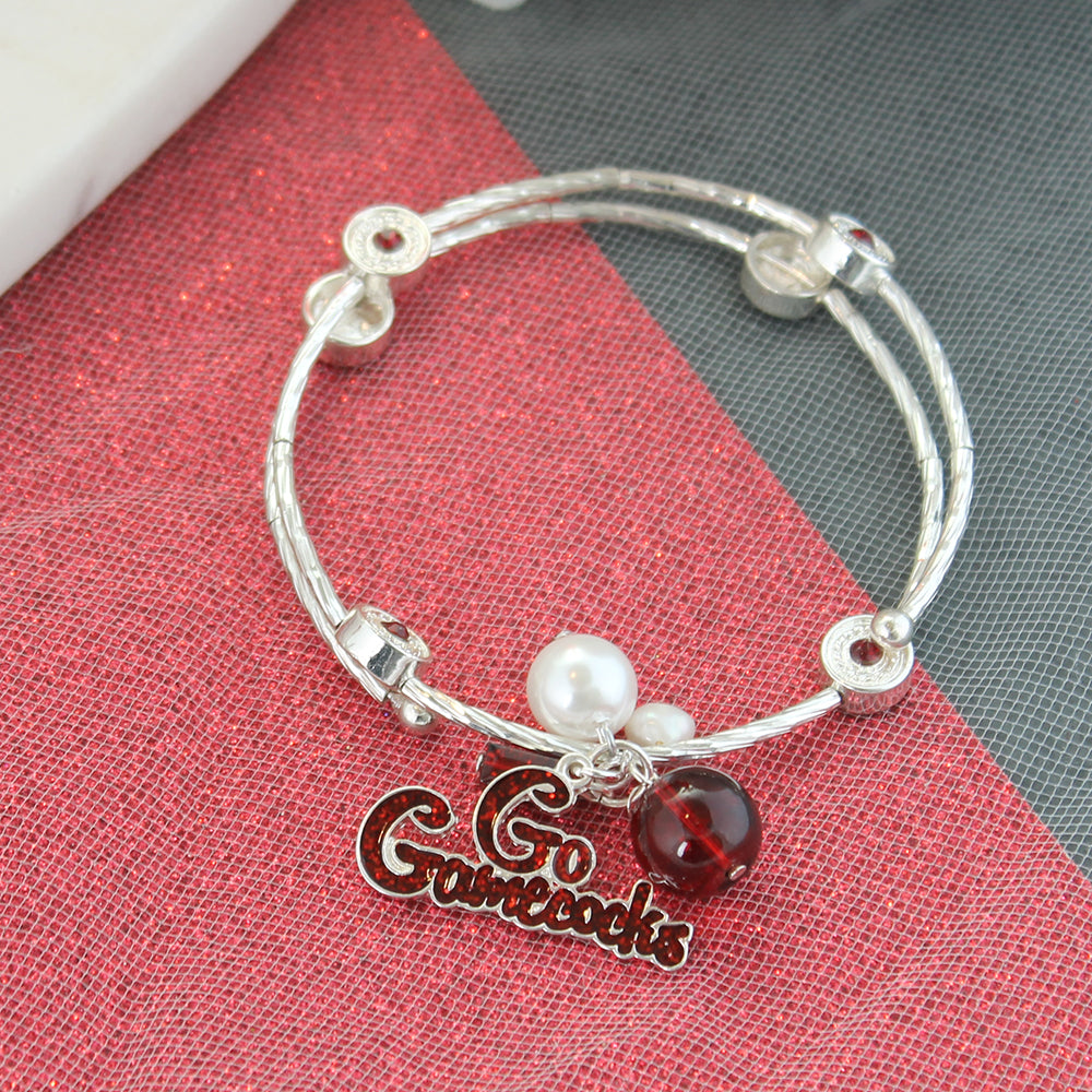 South Carolina Slogan Bracelet