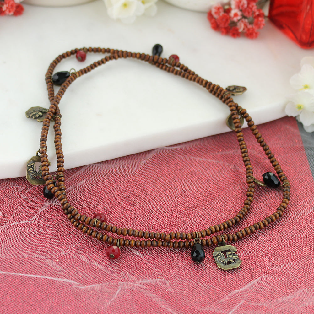 South Carolina Wood Bead Stretch Necklace/Bracelet