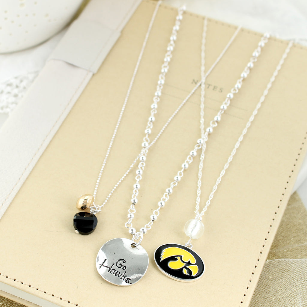 Iowa Trio Necklace Set