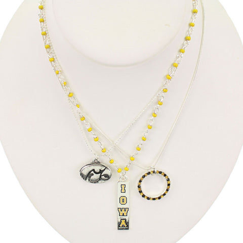 Seasons Jewelry Iowa Trio Necklace
