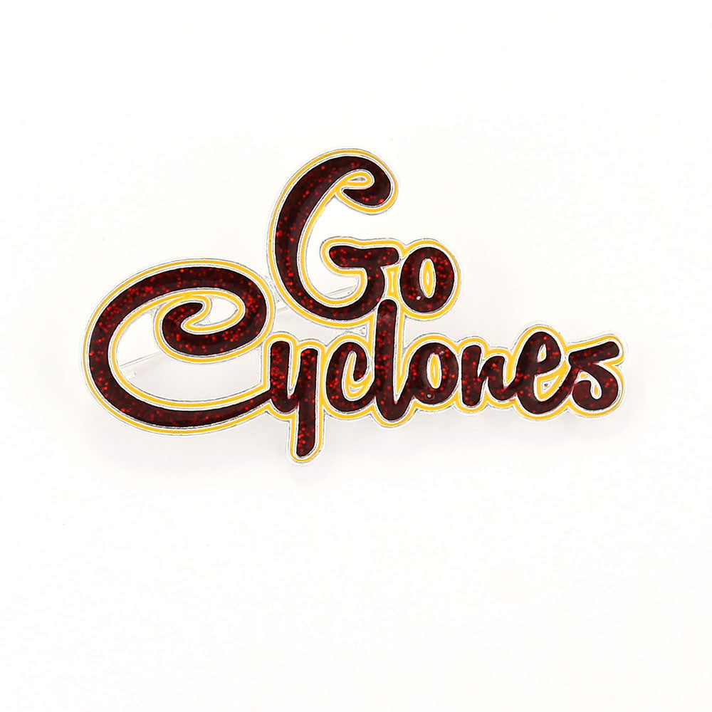 Iowa State Slogan Pin