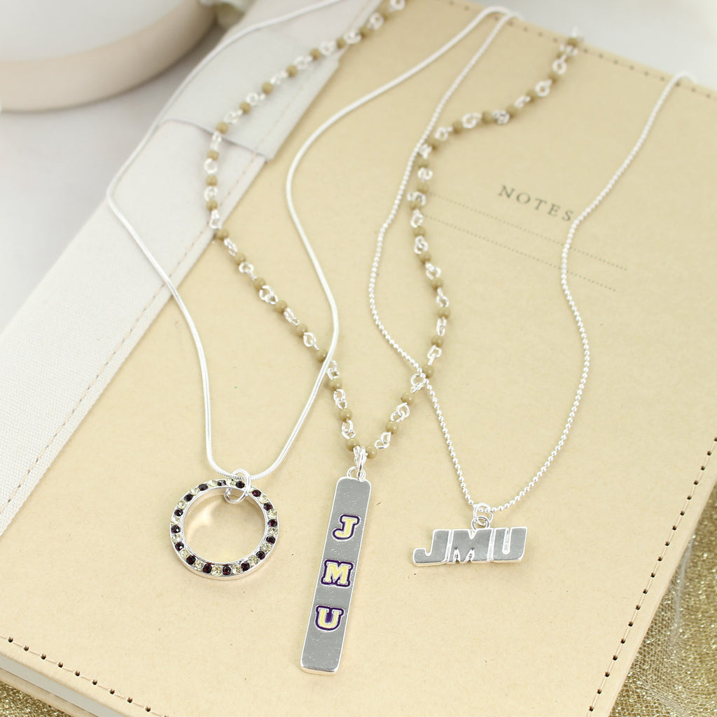 JMU Trio Necklace Set