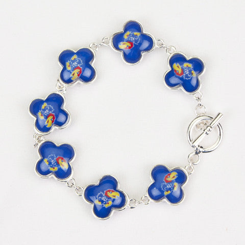 Seasons Jewelry Kansas Quatrefoil Bracelet