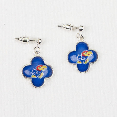 Seasons Jewelry Kansas Quatrefoil Earrings