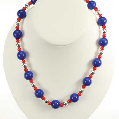Kansas Bead Stretch Necklace